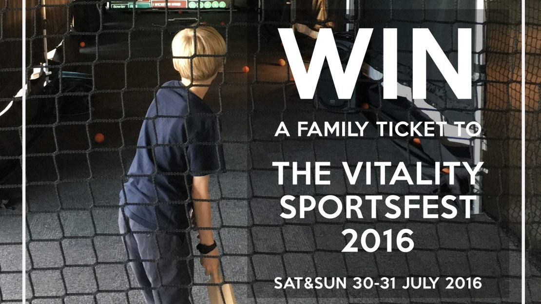 Vitality SportsFest Ticket Competition