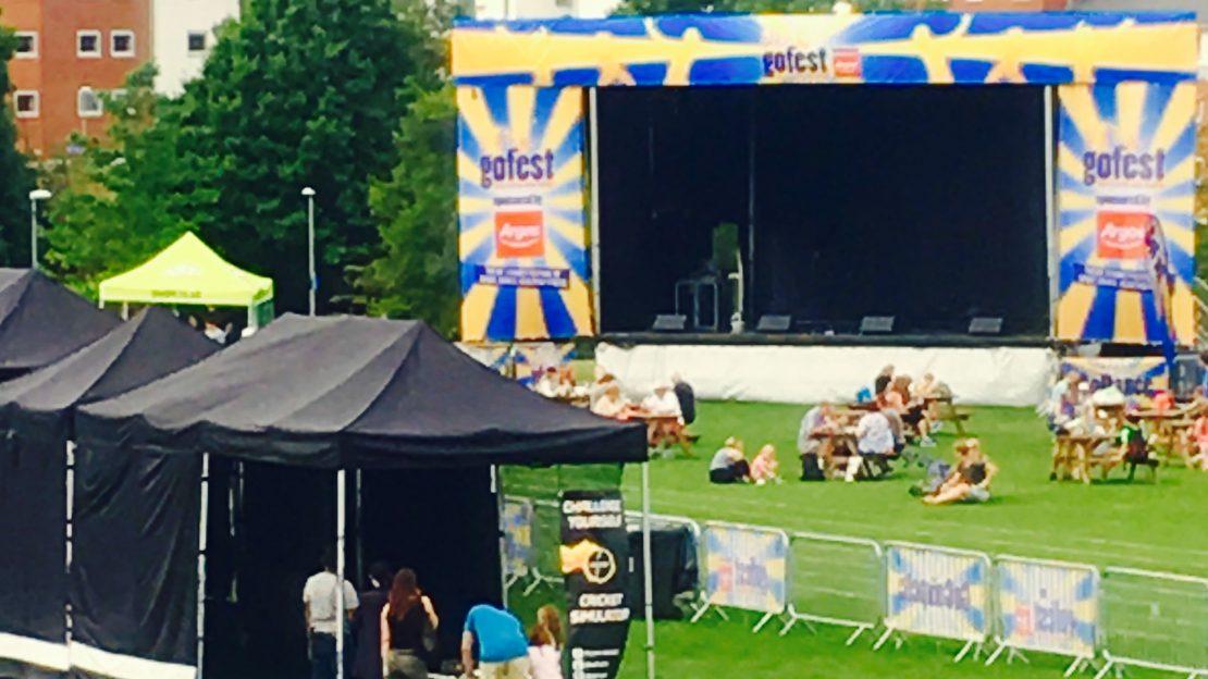 Batfast Cricket simulator Gofest Argos