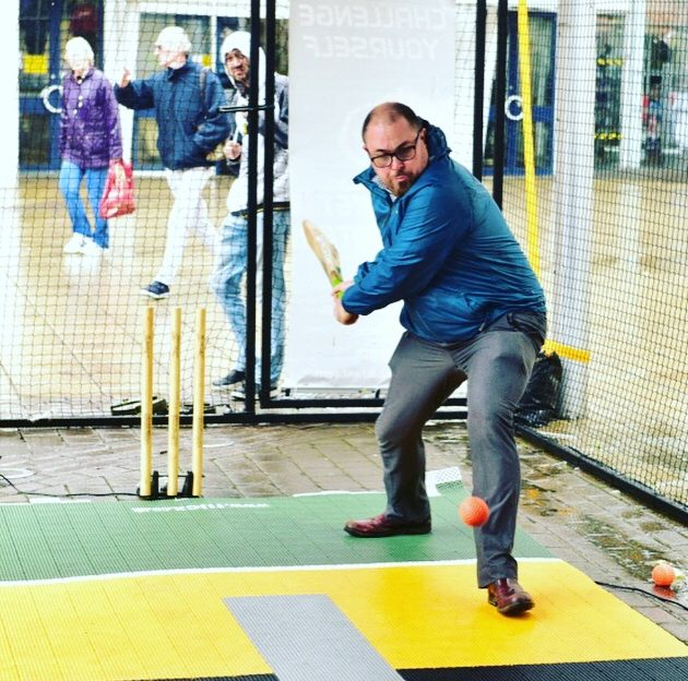 BATFAST street Cricket Simulator